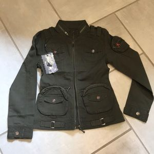 Free Knight Military Inspired Jacket